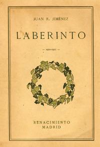 Portada del libro Laberinto (1913), de Juan Ramón Jiménez