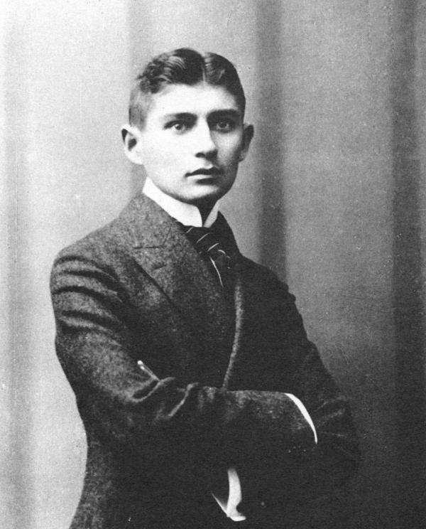 Franz Kafka, en 1906
