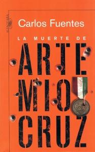 Portada de La muerte de Artemio Cruz, de Carlos Fuentes (Alfaguara)