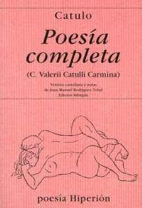 Portada del libro Poesía Completa, de Catulo (Hiperión)